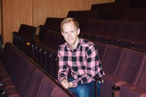 Jonas Öhrn, regissör för Västeråsrevyn.