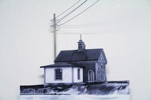Edsbyns gamla kraftstation har blivit frilagd i Edsbyns museum och elledningar är dragna från stolpen. Det var 1906 som Edsbyns kraftstation kom igång. Den hade då 96 abonnenter.