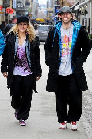 Jennie Widegren och Fredrik Rydman har satt dansstegen till musikalversionen av Romeo och Julia.