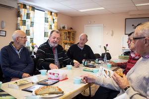 PRO har mycket verksamhet i bygdegårdsföreningens lokaler, bland annat föreningsmöten och studiecirklar.