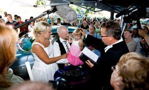 Både bröllop och dop har blivit stående inslag under Power Meet i Västerås.