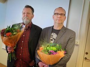 Pecka Alzén och Anders Sundin.