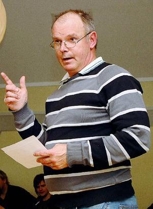 Högste skolpolitiker Leif Nord (M) medger att skolchefsrekryteringen sköttes så illa så att han begärde omtag. Men det slutade schysst, säger han.Foto: Elisabet Rydell-Janson