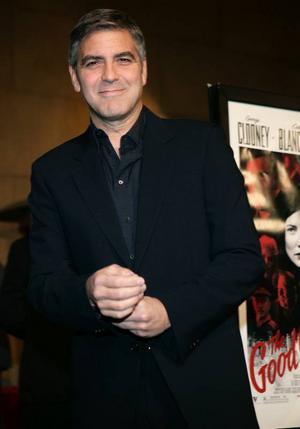George Clooney – det liberala Hollywoods ansikte utåt. Han har bland annat engagerat sig i konflikten i Darfur i Sudan.