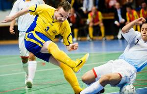 Futsal-VM pågår i Idrottshuset i Örebro.