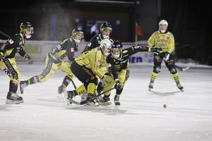 Broberg skärpte till spelet i den andra halvleken och gick ikapp till 2–2.