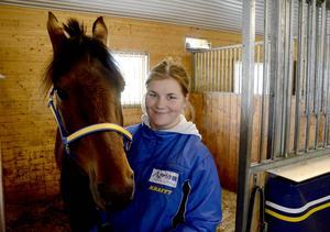 Sjuårige Gilson är en av nio hästar från Wången som ska vara med i