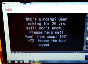 Den 23 augusti 2008 laddade Per Kjellin upp den då okända låten på Youtube. Den 25 november fick han veta namnet.