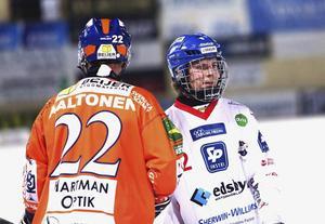 Edsbyns mittback Jocke Svensk ser positivt på framtiden igen efter segern i Uppsala.