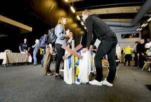 Denise Jonasson, 18 år från Sundsvall hoppas på att få jobb i Åre. Hon gick ut gymnasiet i våras och är redo att flytta till Åre om hon får napp.