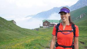 Josefin Forsell är ofta ute i naturen och gillar att kombinera naturupplevelser med nyttan att plocka skräp.