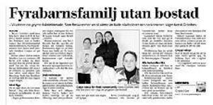 Gefle Dagblad den 27 februari 2003.