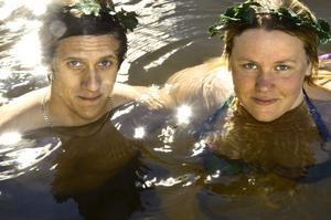 Strong insats. Maria Ryefalk och Christer Nederman klarade båda elitmärket efter elva års strävan.