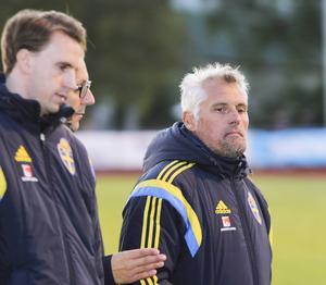 Förbundskapten Claes Eriksson var nöjd med det mesta, inte minst