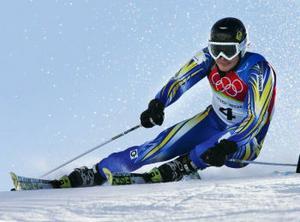 5:a Fredrik Nyberg, 87 hundradelar från pallen. Placeringen är hans bästa i OS någonsin.