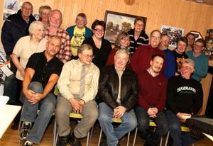 Forskarna. Samarbetet mellan Länsmuseet, Totrakastalen och sportdykare,  gav mycket kunskap till alla. Längst fram sitter Janne Dahlström, Harry Alopaeus, Dan Engman, Bo Ulfhielm och Rolf Larsson.