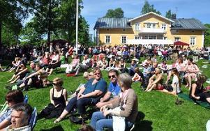 Brukets dag i Långshyttan var ett av sommarens minnesvärda evenemang. Foto: Sär Pönnert