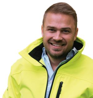 Kim Söderström, ordförande för fackförbundet Byggnads i Gävleborg och Dalarna.