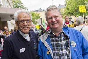 Peter Nordebo och Sven Lindström har länge varit engagerade i familjens situation.