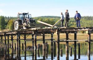 Bron vid Båtböle får en omfattande renovering.
