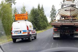 Trafiken reglas med trafiklots.