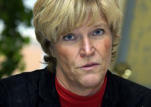 Välbetald. Dalarnas landshövding Maria Norrfalk. Foto:Claudio Bresciani / SCANPIX