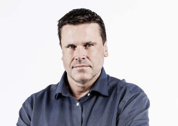 Henrik Brändh, F1-reporter på NA.