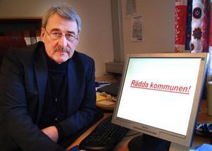 Martin Rolén konstaterar att kostnaderna för vården och omsorgen måste bantas.