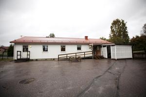 Provisorium. Backastugans förskola i Jäderfors har legat i sina provisoriska lokaler i mer än tio år.