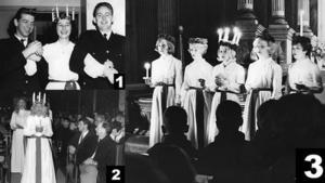 1957, 1990 och 1965 var de rätta svaren på luciatävlingen.