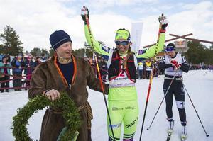Lina Korsgren imponerade med 24:e bästa tid totalt.