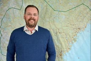 Mikael Artursson jobbar inom ett stort geografiskt område. I distriktet finns 1350 medlemmar i 43 lokala missionsföreningar.