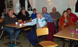 Intresset för att kunna vara med och äga vindkraftverk var stort bland Lillhärdalsborna på onsdagskvällen. Foto: Leif Eriksson