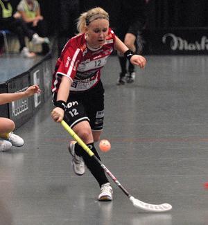 Kais Moras Ellen Tillman avslutade målskyttet i Jönköping. Hon gjorde dessutom ytterligare ett mål i matchen.