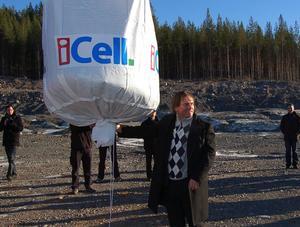Staten går in som delägare i superisoleringsföretaget iCell i Älvdalen.