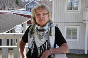 Sjuksköterskan och Moderate kommun- politikern Birgitta Franzon.