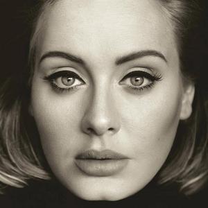 Omslaget till Adeles tredje album