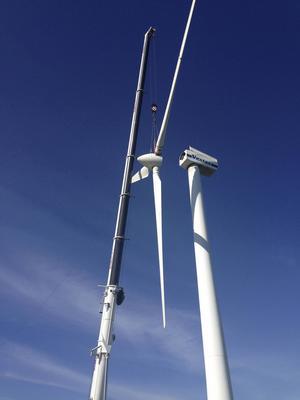 Minskat intresse för vindkraft i mellersta Norrland.
