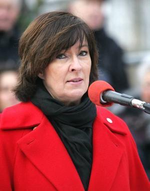 Socialdemokraternas ledare Mona Sahlin.