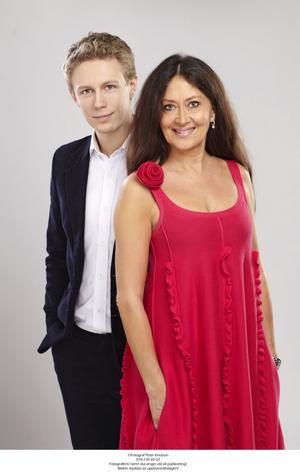 Andreas Landegren och Anna-Lotta Larsson.