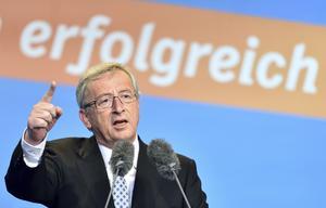 Vem är Juncker?  EU-parlamentet kräver att kristdemokraten Jean-Claude Junker ska bli EU-kommissionens nästa ordförande.Foto: Uwe Anspach/ AP Photo/TT