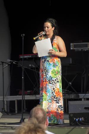 Jamina Jansson var konferencier.