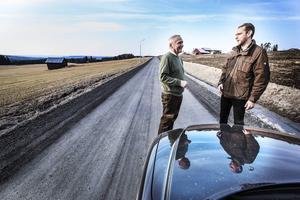 Björn Barr under besöket i Östersund