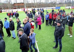 Många i Sundborn har bidragit till den nya multisportarenan på olika sätt. Här är några av dem.