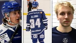 Fredrik Forsberg, Olle Alsing och Sebastian Björnstad spelar kvar i Leksand nästa säsong.