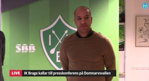 Klebér Saarenpää är ny Bragetränare.
