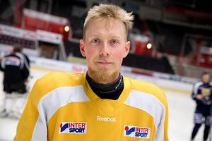 SSK:s lagkapten Johan Skinnars.