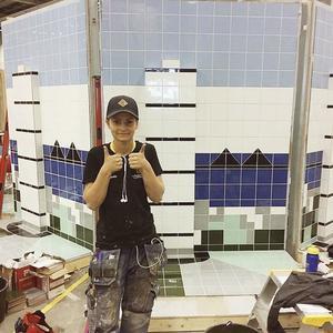 Amanda Thyr tog ett spurtpris på Yrkes-SM i Malmö.