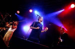 Per-Olof Stjärnered och hans Autisterna vill gärna spela i Östersund igen. Bilden är från Storsjöyran där bandet spelade 2008.