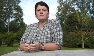 Irene Modd, ordförande för Kvinnojouren Ringblomman.